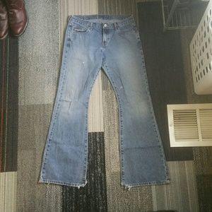 Calvin Klein Bootcut Jeans size 9 Juniors